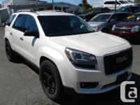 Make GMC Model Acadia Year 2014 Colour White kms