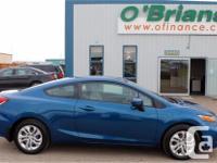 Make Honda Model Civic Coupe Year 2014 Colour Blue kms