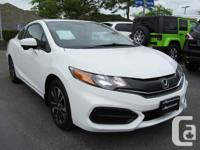 Make Honda Model Civic Coupe Year 2014 Colour White