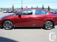Make Honda Model Civic Year 2014 Colour Red kms 10255