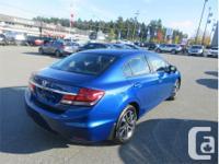 Make Honda Model Civic Year 2014 Colour Blue kms