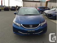 Make Honda Model Civic Year 2014 Colour Blue kms 73365