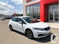 Make Honda Model Civic Sedan Year 2014 Colour White