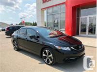 Make Honda Model Civic Year 2014 Colour Black kms