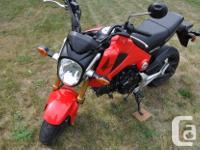 Make Honda Model Grom Year 2014 kms 19761 2014 Honda