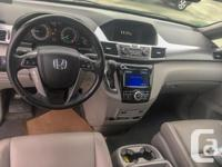 Make Honda Model Odyssey Year 2014 Colour Grey kms, used for sale  British Columbia