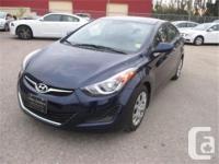 Make Hyundai Model Elantra Year 2014 Colour Blue kms