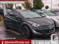 Make Hyundai Model Elantra Year 2014 Colour Black kms