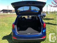 Make Hyundai Model Tucson Year 2014 Colour Blue kms