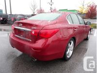 Make Infiniti Model Q50 Year 2014 Colour Red kms 69420