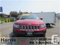 Make Jeep Model Compass Year 2014 Colour Red kms 28065