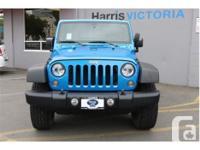 Make Jeep Model Wrangler Year 2014 Colour Blue kms