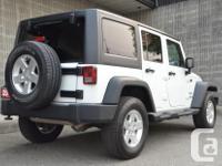 Make Jeep Model Wrangler Unlimited Colour White / Black