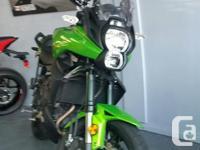 2014 Kawasaki Versys 650. Green. 4075km. $6599. Clean