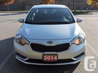 Make Kia Model Forte Year 2014 Colour silver kms 70422