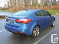 Make Kia Model Forte Year 2014 Colour Blue kms 98000