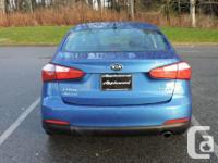 Make Kia Model Forte Year 2014 Colour Blue kms 102288