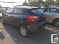 Make Kia Model Rio5 Year 2014 Colour black kms 78000