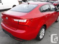 Make Kia Model Rio Year 2014 Colour Red kms 37990