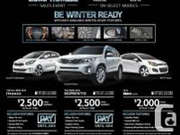Save tons of money with West Coast Kia!    Come check