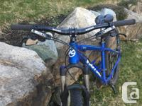 I'm selling my entry level mountain bike. It's a 2014