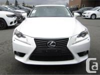 Make Lexus Model IS 250 Year 2014 Colour White kms