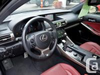 Make Lexus Model IS 350 Year 2014 Colour Black kms