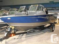 New 2014 Lund 1800 Sport Angler available in Cobalt