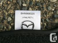 2014 MAZDA3 BLACK CARPET FLOOR MATS OEM FACTORY