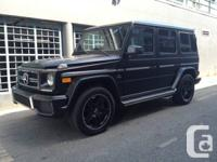 For sale is a brand new 2014 Mercedes Benz G63 AMG The