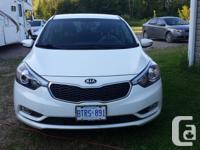 Make Kia Model Forte Year 2014 Colour white kms 18500