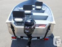 = $5,995 w/ Mercury 9.9Hp FourStroke Boat, Motor,