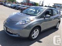 Make Nissan Model Leaf Year 2014 kms 75874 Trans
