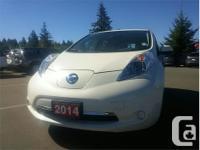 Make Nissan Model Leaf Year 2014 Colour White kms