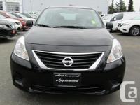 Make Nissan Model Versa Year 2014 Colour Black kms