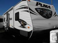 2014 Puma 31RDSS.  P>)Puma 31-RDSS Double Slide Trip