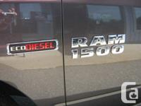 The 2014 Ram 1500 ECO Diesel's are now in stock. Here