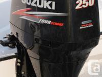 2014 Suzuki DF250AP 4 Stroke Outboard. Selective