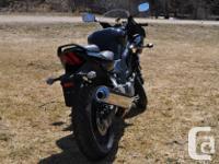 I'm selling my beautiful 2014 Suzuki SV650s, it has