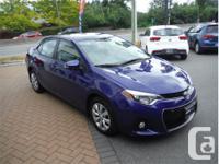 Make Toyota Model Corolla Year 2014 Colour Blue kms