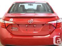 Make Toyota Model Corolla Year 2014 Colour Sport Red