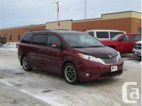 Make Toyota Model Sienna Year 2014 Colour Red kms