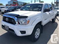 Make Toyota Model Tacoma Year 2014 Colour White kms