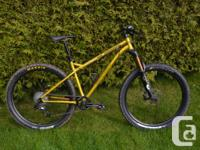 2014 Transition Trans AM 27.5 all-mountain hardtail in
