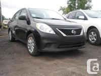 Make Nissan Model Versa Year 2014 Colour Black kms
