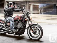 2014 Victory High-ball Cruiser Motorcycle - Durable,