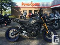 All stock equipmentIntroducing the all-new 2014 FZ-09,