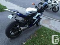 Make Yamaha Year 2014 kms 7500 2014 Yamaha R6, mint