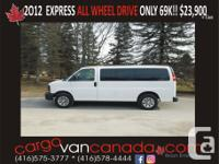 Make Chevrolet www.cargovancanada.com  or  OVER 65+