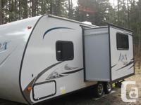 2015 Model 214RB Apex Ultra light travel trailer,half
